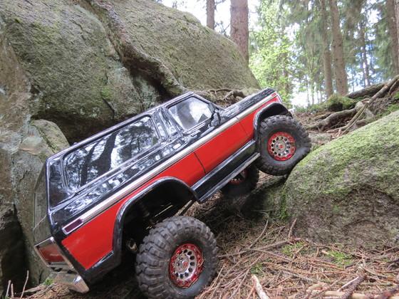 Crawl Trx 4 Ford Bronco
