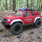 TRX-4 Feuerwehr auf der Suche nach dem Brandstifter...