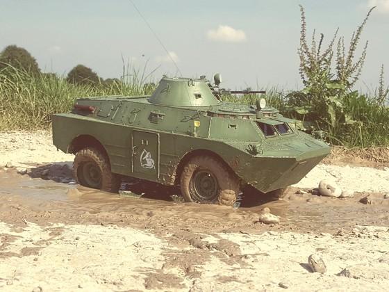 BRDM-2 im Einsatz