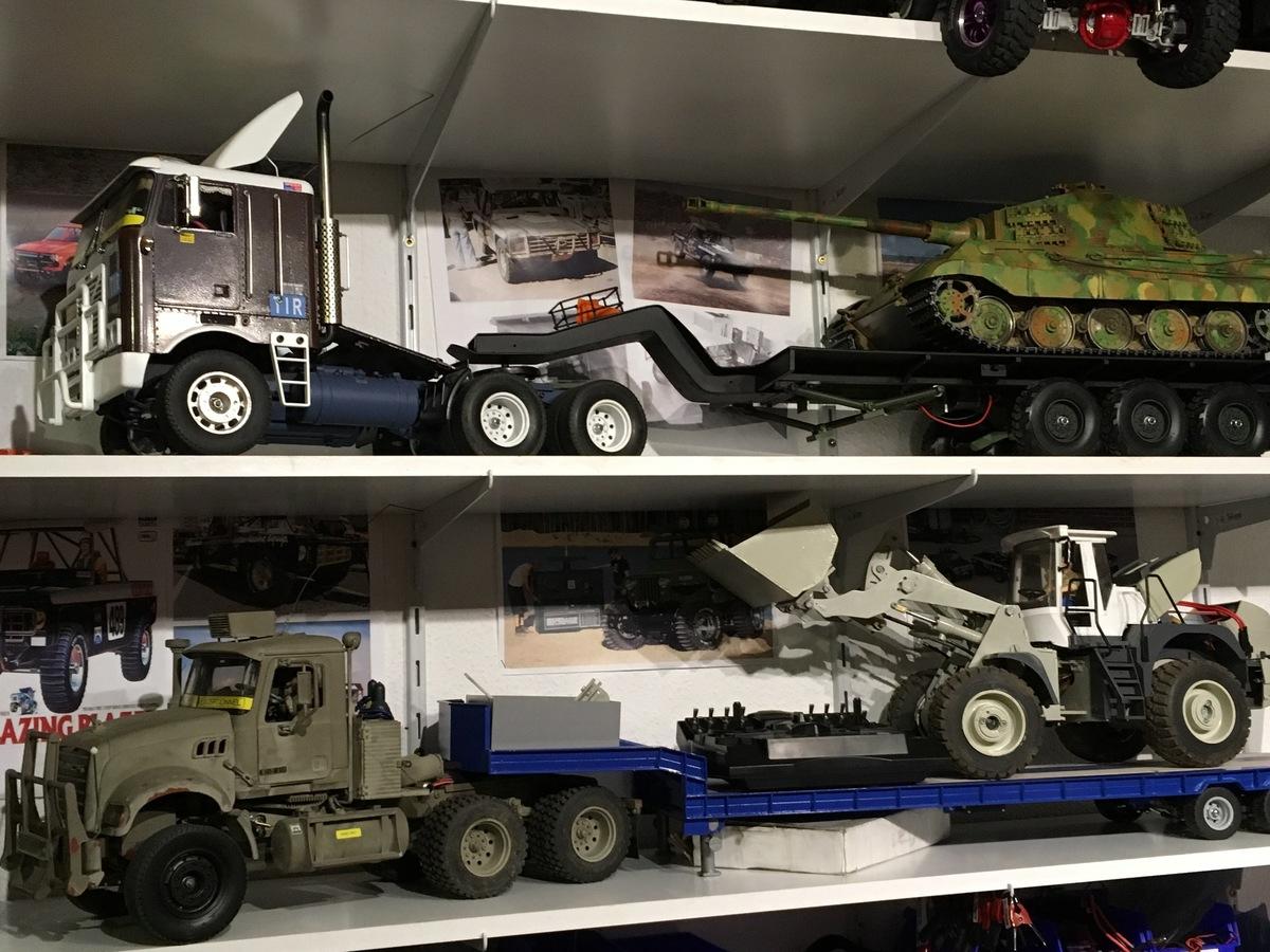 Mein Truck Regal