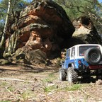 Jeepin at the Catstones