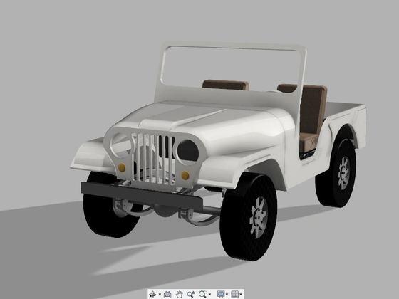 CJ 5 - 3D Druck