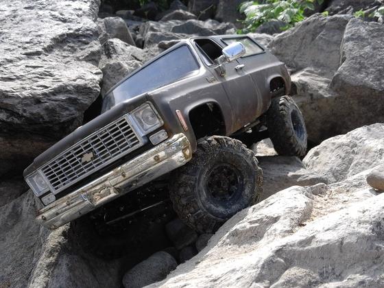 rc4wd chevy blazer auf custom-chassis