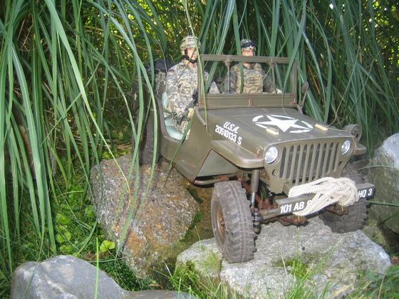 Willys MB auf Sawback