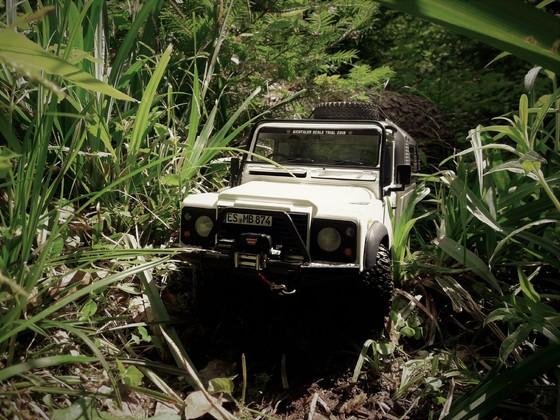 Defender 110 HCPU im Amazonas