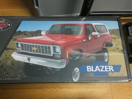 Chevy Blazer Karo Kit, heute bekommen