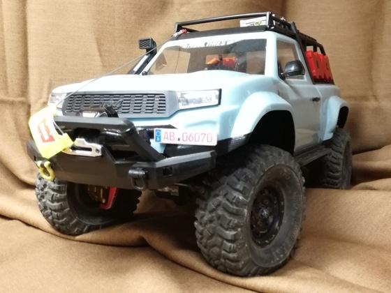 TRX4 mit neuem Body II