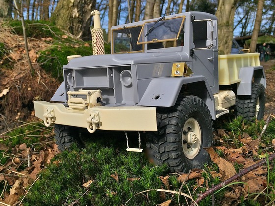 Tommys REO M35 Bobbed / deuce and a half / CrossRC HC-4 ( im Rohbau )