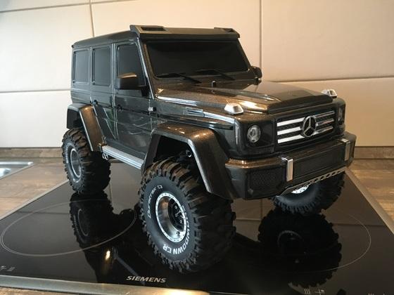 Traxxas TRX-4 Mercedes G500