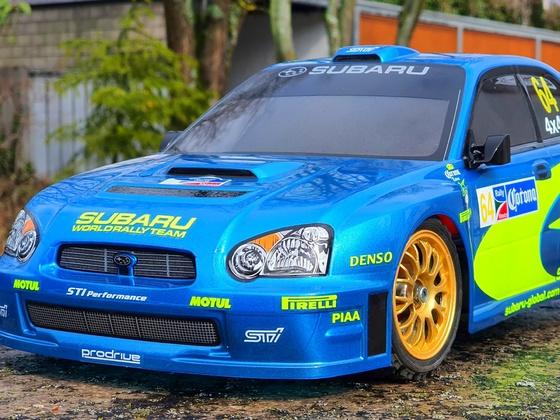 Subaru WRC - noch ist er schön 😉