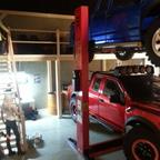 Hebebühne für die Garage