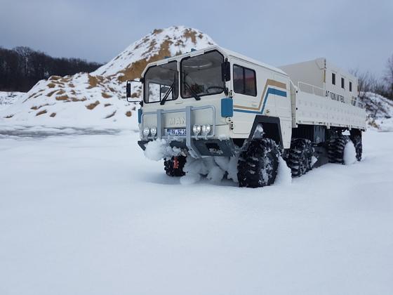 KAT im Schnee