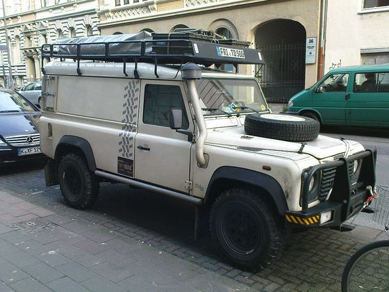 Land Rover Defender 110 Kasten
