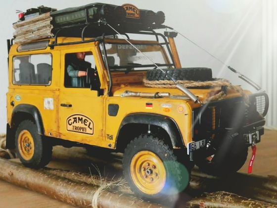 1986 Camel Trophy Defender 90, Sir Oliver