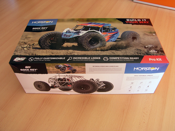 Losi Rock Rey Kit Karton