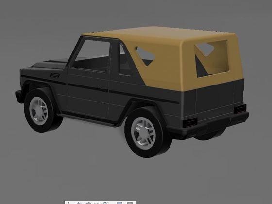 Projekt G Klasse SWB Cabrio - 3D Druck - 2