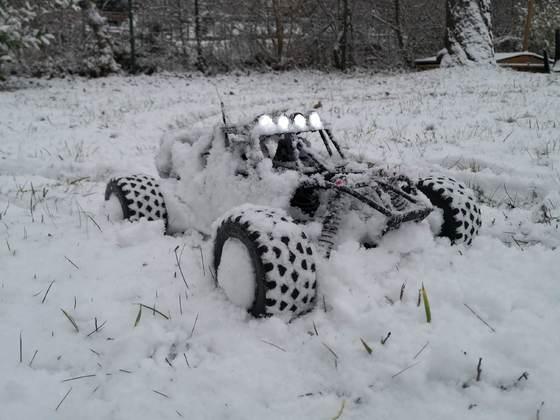 Dune Fighter 2S Schnee