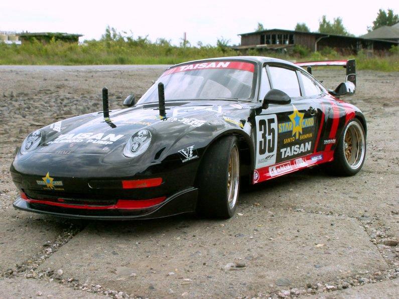 Tamiya Porsche 911 GT2 Taisan