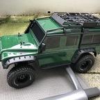 Traxxas TRX4 - Defender grün