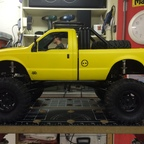 The Reaper`s Yellow F 350 Dust Storm