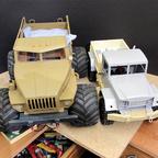 Ural in Scale 1:12 und Us truck M35 in Scale 1:10