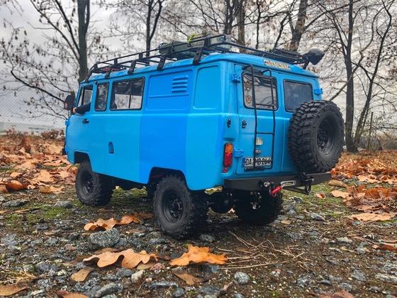 UAZ 3909 Bukhanka - Erste Ausfahrt