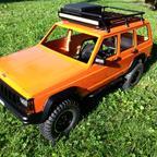 ABS Cherokee auf Axial SCX10 II