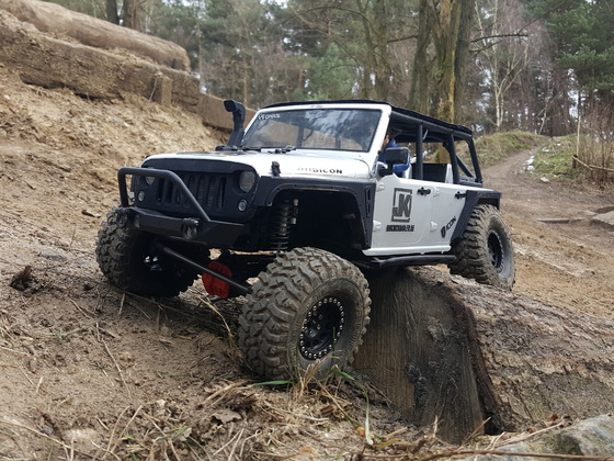 Axial Scx10-2 in Celle