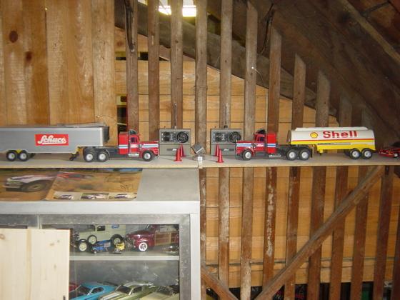 Schuco RC Truck 1:30 von 1973-4