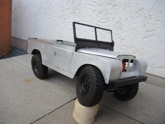 land Rover 109er Aluminium