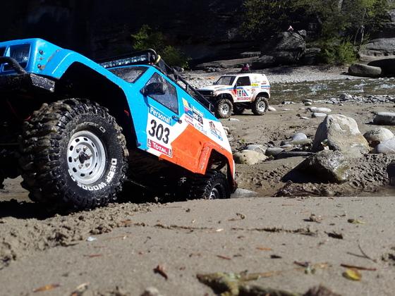 Cherokee und Pajero Rally Raid