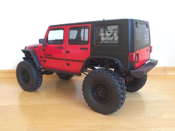 SCX10 II JEEP Wrangler Unlimited CRC - Just RTR ;-)