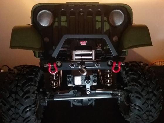 Molto Jeep auf Boom Chassis mit Hpi Achsen, Dieselsound, Winde, Gopro, Powertower usw