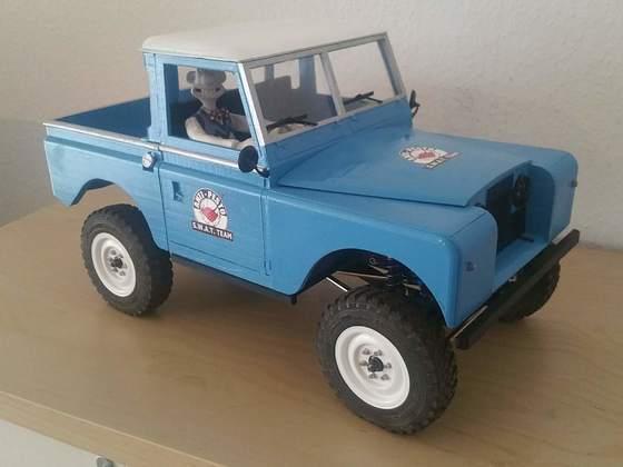 Land Rover Series 2 aus dem 3D-Drucker