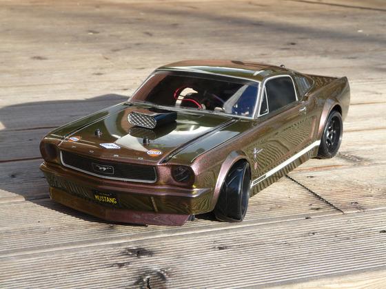 1966 Ford Mustang GT mit Flip Flop Lack