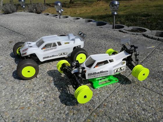 TLR 22 3.0 2WD Buggy und TLR 22 3.0 Truck
