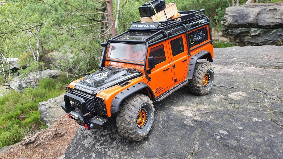 TRX4 Defender im Elbsandsteingebirge