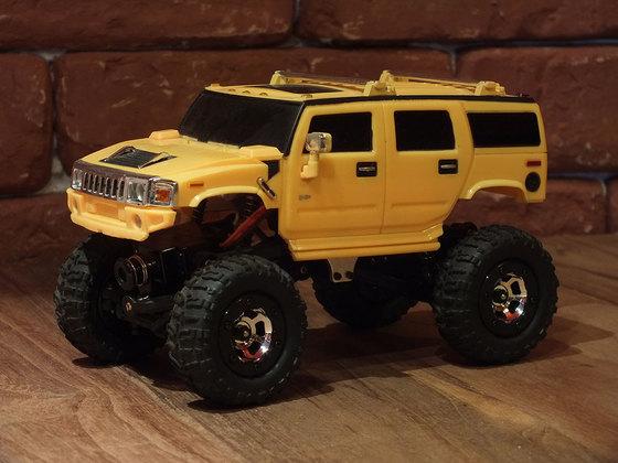 Losi Micro Rock Crawler mit XMods Hummer Karo