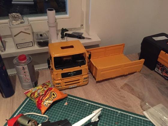 Mein neues Projekt, MAN Bruder 3-Achs Kipper