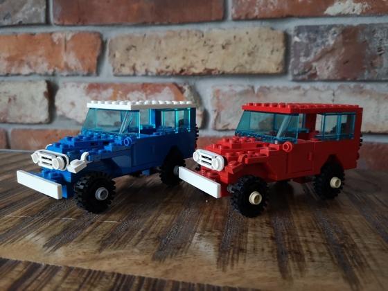 Lego Toyota Land Cruiser FJ40
