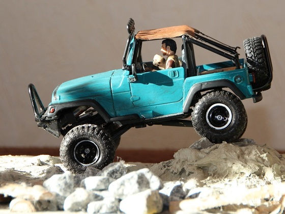 Losi Micro Scaler Jeep TJ 1:20  von NB
