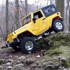 Jeep JK Rubicon mit 3D Druck Chassus und Cantileverfederung