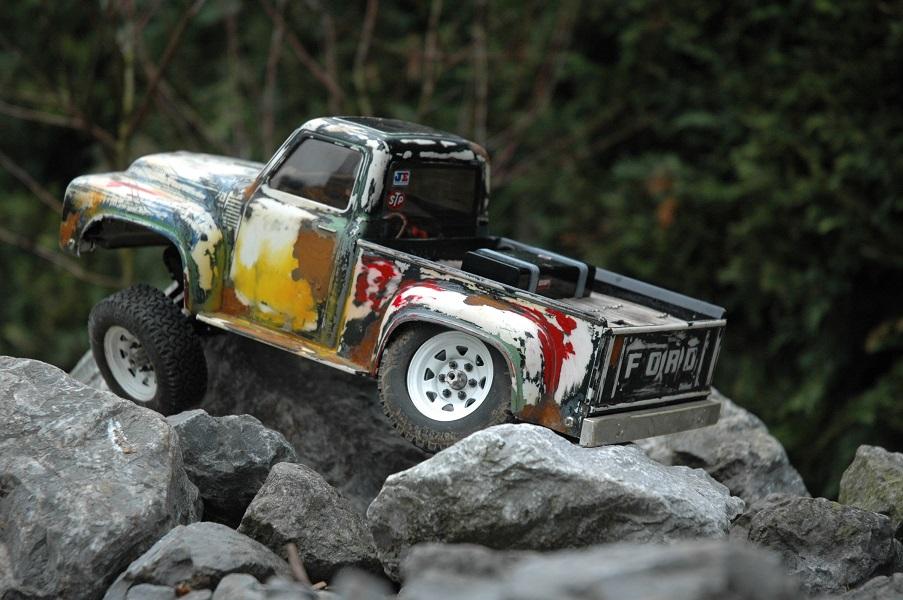 Mein 56er Ford F100 auf Kulak