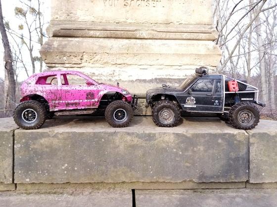 Pinky und FreeMen