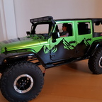 Buster's Jeep Wrangler JK 4 door New Bright auf Traxxas TRX-4....still in progress..