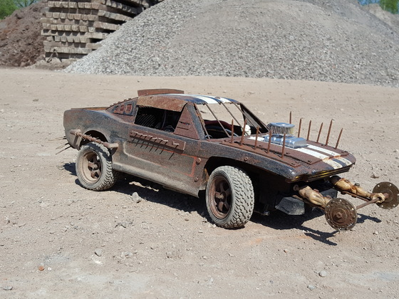 Mad Max Fury Road Interceptor V8