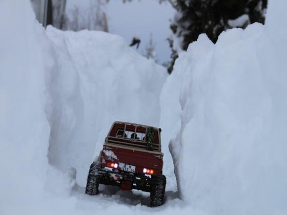 Toyota LC70 im Schnee
