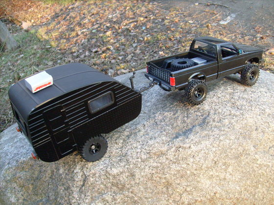 Truck And Trailer 1