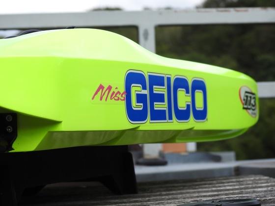 Miss Geico 36 - gewartet für den nächsten Einsatz
