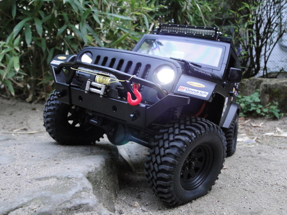 Trophy Jeep JK 2 Door